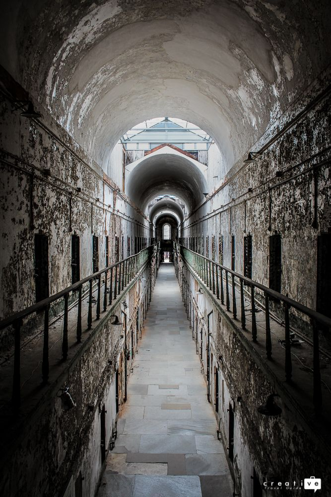Cell Block -  visit the abandoned prison in Philadelphia