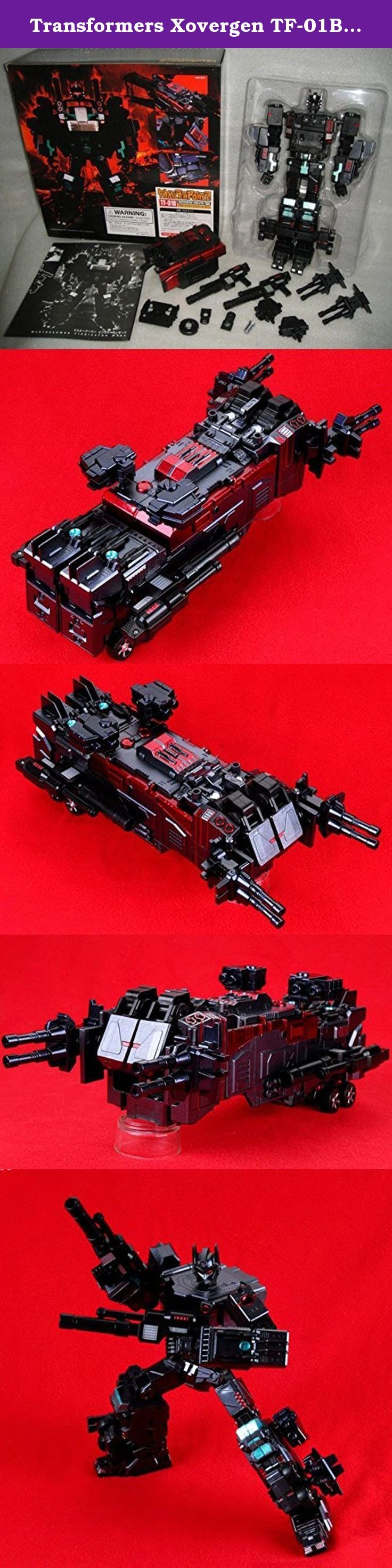 Transformers Xovergen TF-01B Trailer Force Black Nemesis Version. Transformers Xovergen TF-01B Trailer Force Black Nemesis Version.