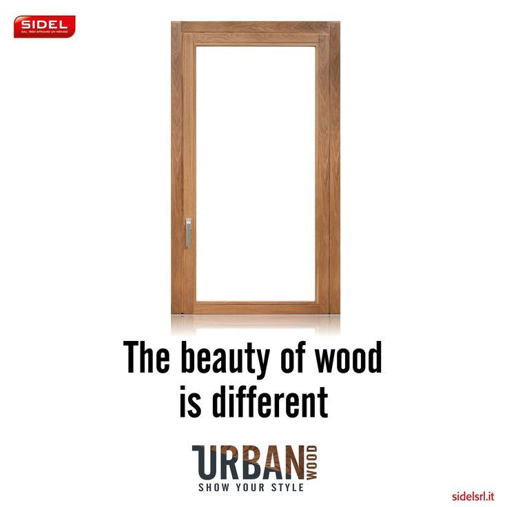 UrbanWOOD la finestra in legno incontra la tecnologia. Finestre Sidel srl ad ogni esigenza abitativa la giusta risposta.  #naturalmenteprotetti #urbanwood #solocosebelle
