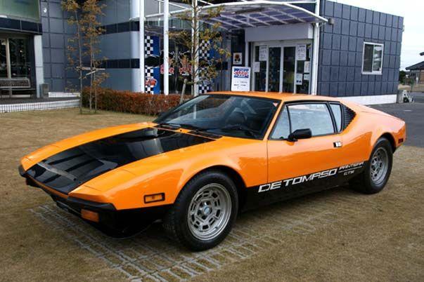 """デ・トマソ パンテーラ。「とりわけスキな車」の一つ。""""パンテーラ""""って、パンサーのことなんだね。"""