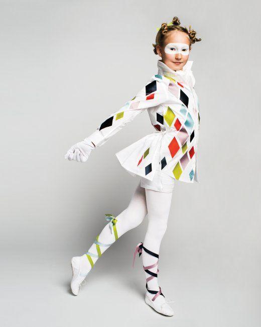 Harlequin Halloween Costume