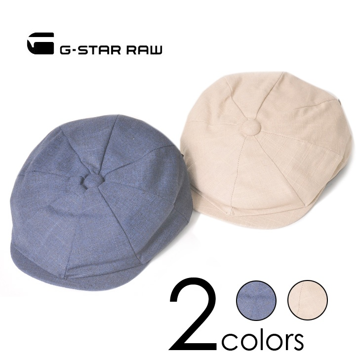 G-STAR RAW(ジースターロー) キャスケット 2COLORS No.89574A.4973.856/255 cap-gs-049