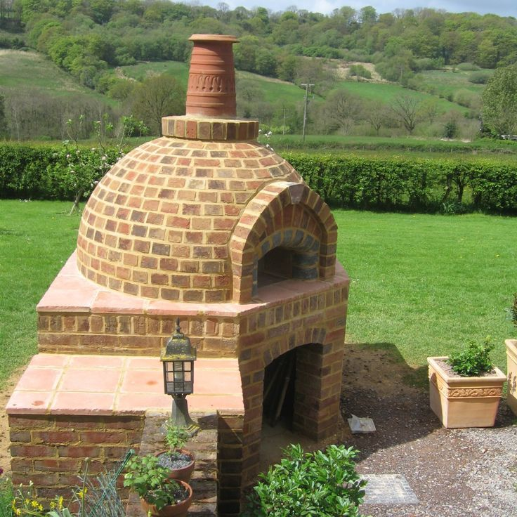 how to build and outdoor oven