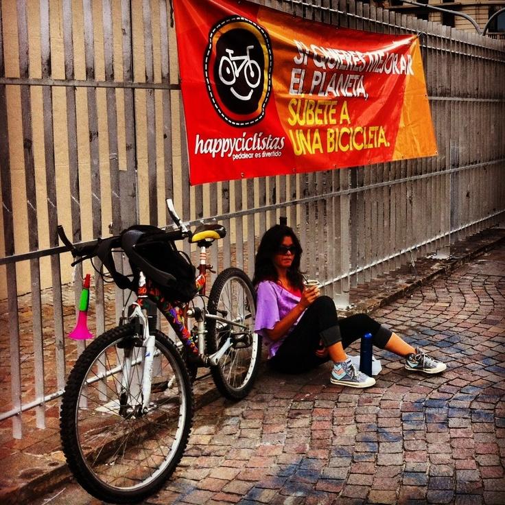 Un matecito antes del pedaleo?  Masa Critica Buenos Aires