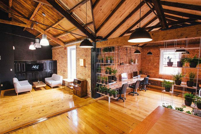 Motion Sickness Studio's Newmarket space. Fitout by  Think & Shift.