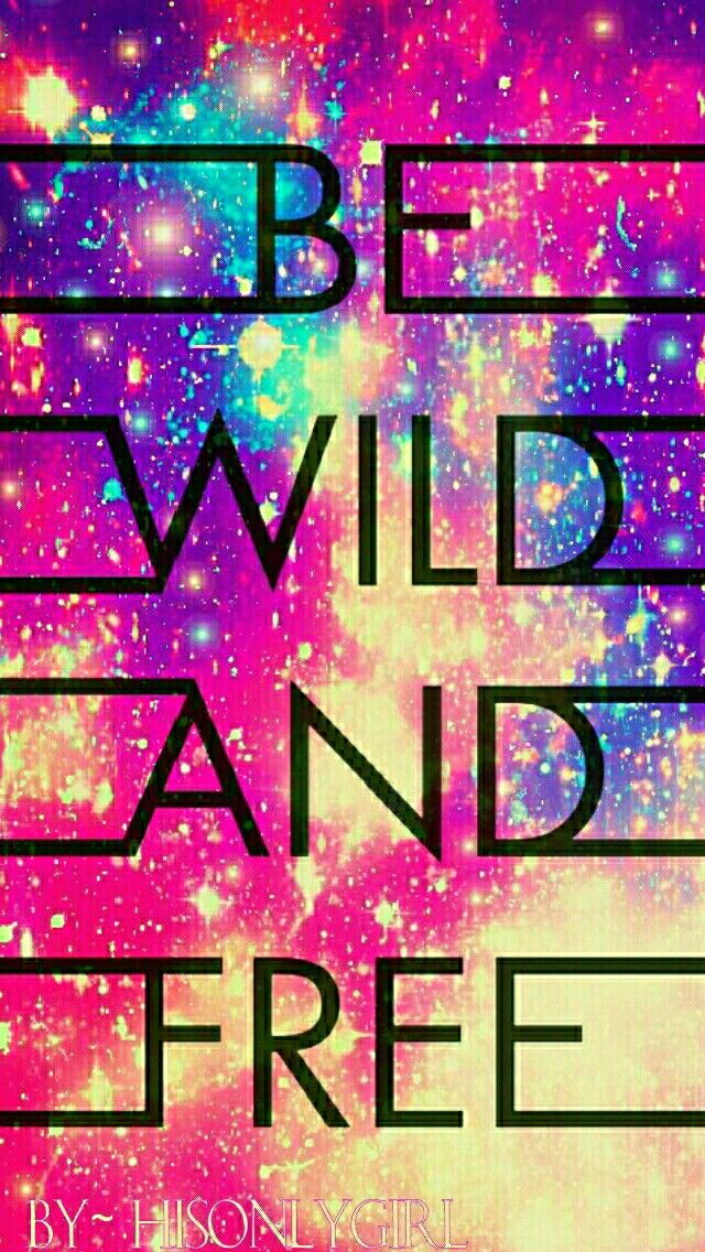 Wild & Free galaxy wallpaper I created for the app CocoPPa.
