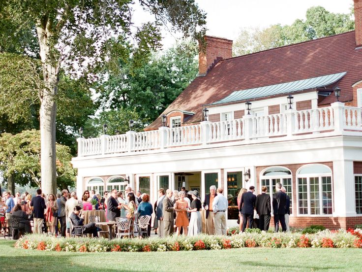 Wedding Reception Etiquette: Rules for Cocktail Wedding Receptions? | Photo by: Sweet Tea Photography | TheKnot.com