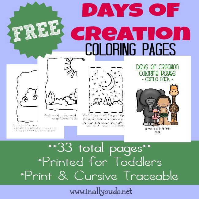 The 25 Best Creation Coloring Pages Ideas On Pinterest