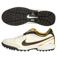 Nike Tiempo Mystic II Astro Turf Trainers -  Nike Tiempo Mystic II Astro Turf Trainers - Pearl/Metallic Gold/Cinder.  http://www.comparestoreprices.co.uk/football-boots/nike-tiempo-mystic-ii-astro-turf-trainers-.asp