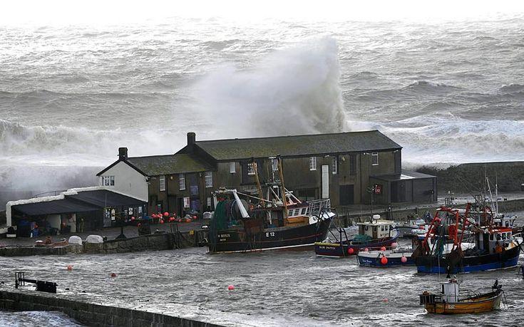 Storms batter UK