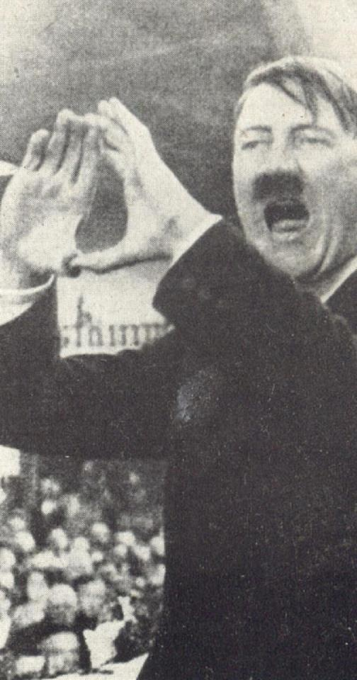Hitler making the same hand signs as JayZ, Beyonce,  Rhianna and other celebrities. Yes, that is the sign of the illuminati and there are many in our government, Hollywood, Music Industry and the very wealthy.  There are several Pins that I have seen of famous people doing that sign including Madonna.