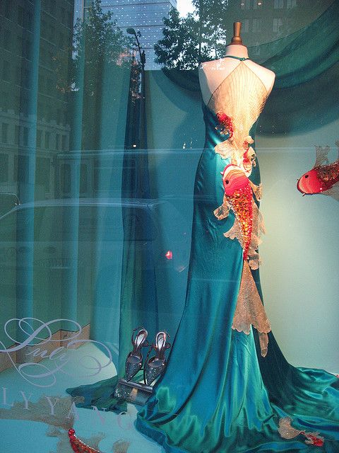 Luly yang koi fish dress wishful wardrobe pinterest for Koi fish dress
