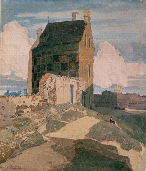 John Sell Cotman (1782-1842) - On the Walls, Great Yarmouth, 1812
