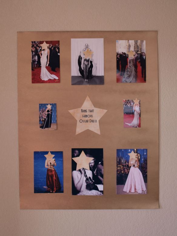 Oscar Party Games - Name that Famous Dress