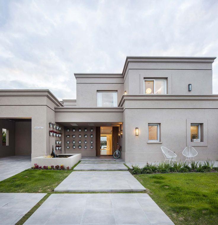 1000 images about casas clasicas en pinterest argentina - Arquitectura casas modernas ...