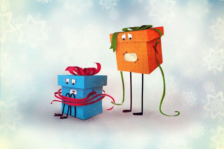 #sorry #christmas #gift box