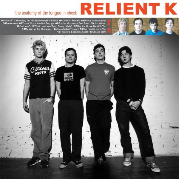 """Relient K """"Anatomy of the Tongue In Cheek"""" (2xLP Vinyl) Vinyl-Standard Weight Vinyl Color-Clear Package-Gatefold Jacket with Insert Pressing Amount- Track Listing Side A Kick-Off Pressing On Sadie Haw"""