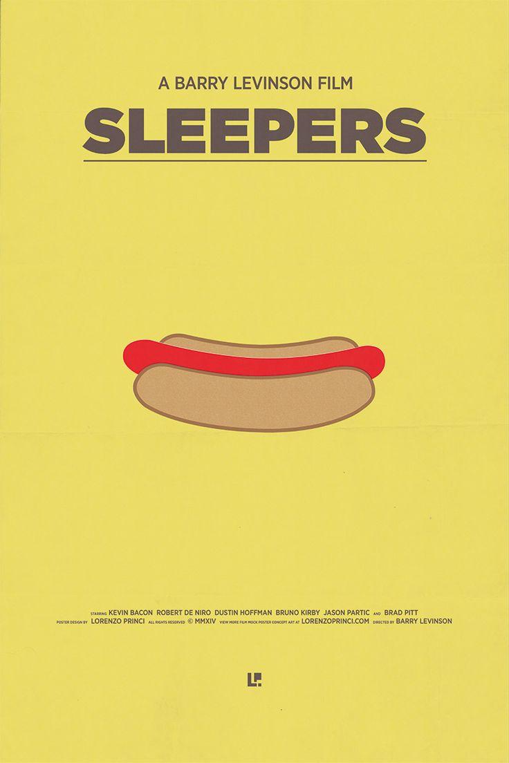 Sleepers (1996) ~ Minimal Movie Poster by Lorenzo Princi #amusementphile