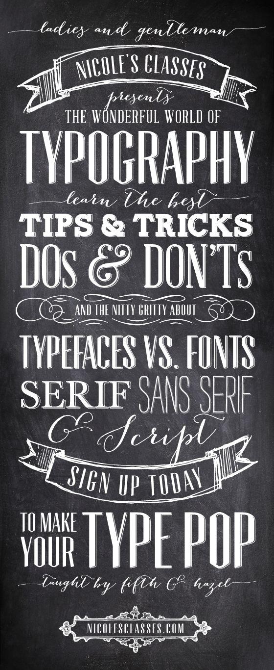 typography by Melanie Burke