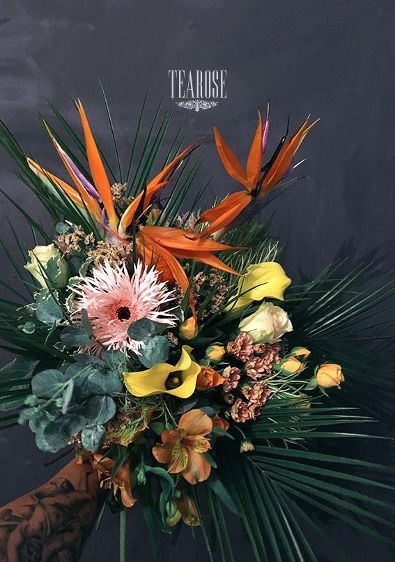 Extra (trópusi) virágcsokor