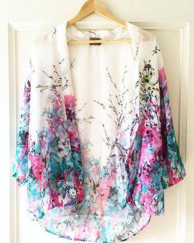 The perfect summer Kimono www.youaresuaisuai.com