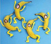Tratatie: verkleed als banaan! - peuter kleuter