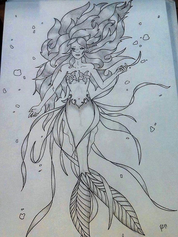 Marmaid by Rigoni Chiara // Dark Lady 97