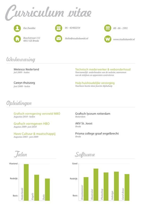 30 Creative Resume Designs For Inspiration