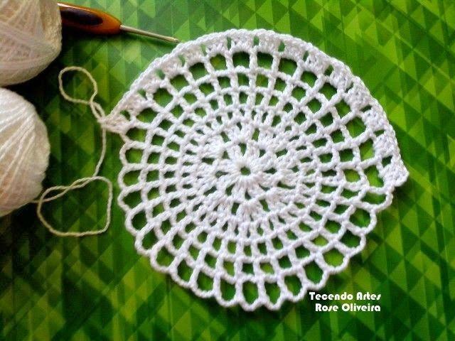 Tecendo Artes em Crochet: Sousplat