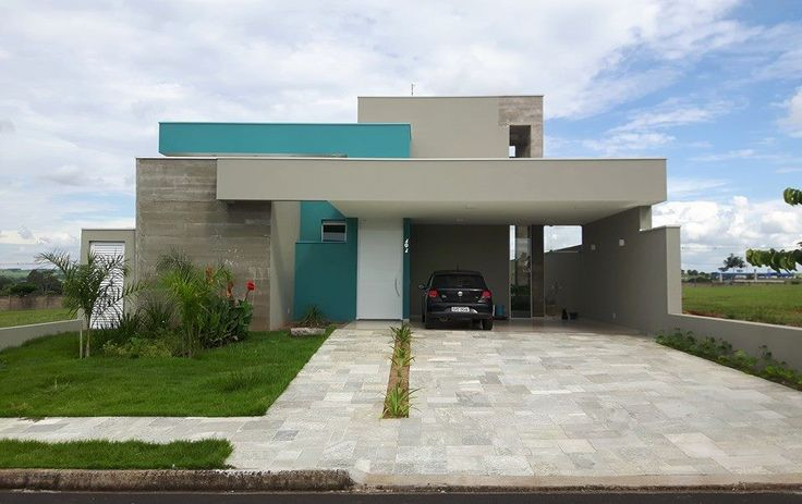 170 melhores imagens de casas terreas no pinterest casas for Fachadas contemporaneas