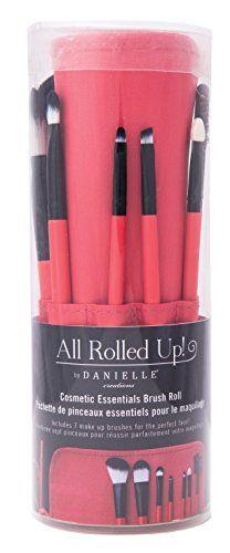 Danielle Enterprises 7 Piece Makeup Brush Set in Roll Up Pouch, Coral Danielle Enterprises http://www.amazon.com/dp/B00VF8FIKS/ref=cm_sw_r_pi_dp_6stovb1R9AS14