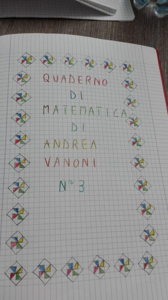 Pin di Laura su didattica | Matematica, Quaderni ...