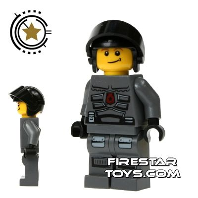 LEGO Space Police Mini Figure - Space Police 3 Officer 8