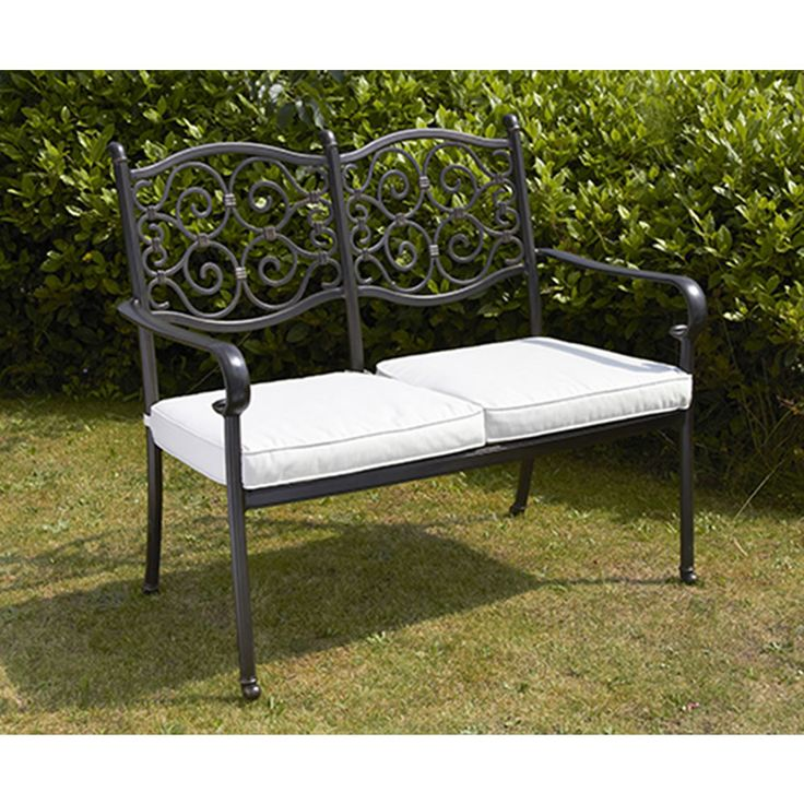 Wonderful Two Seater Patio Set Part - 13: Versailles Two Seater Bench