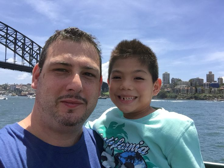 A day on Sydney harbour with the family