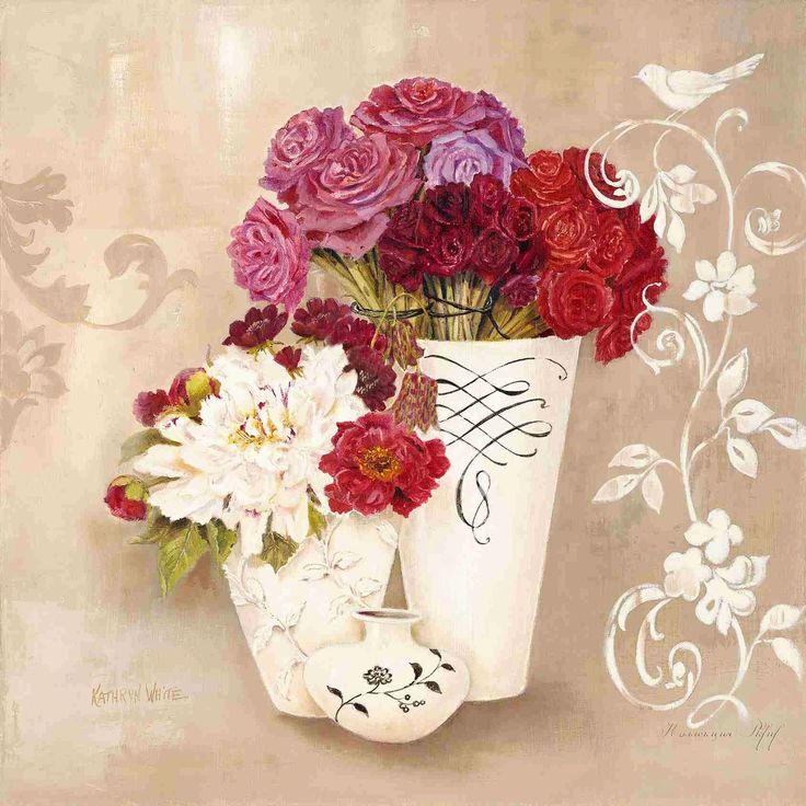 Blossom Scroll (Kathryn White)
