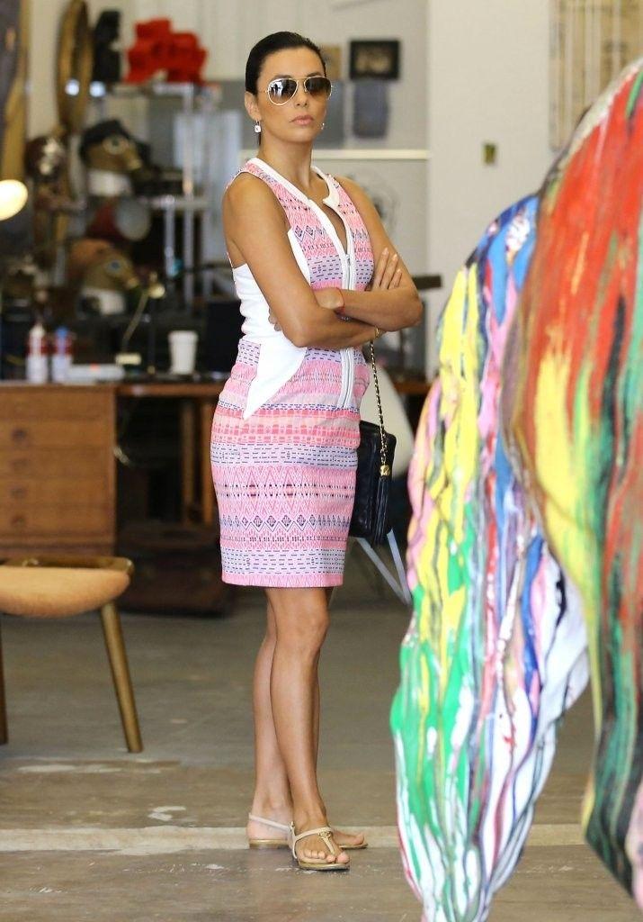 Eva Longoria Photos: Eva Longoria & Jose Antonio Baston Shopping In Malibu