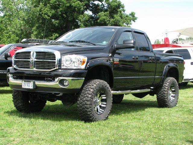 Black Fender Trim For Trucks : Wheel jamboree black dodge ram quad cab loving