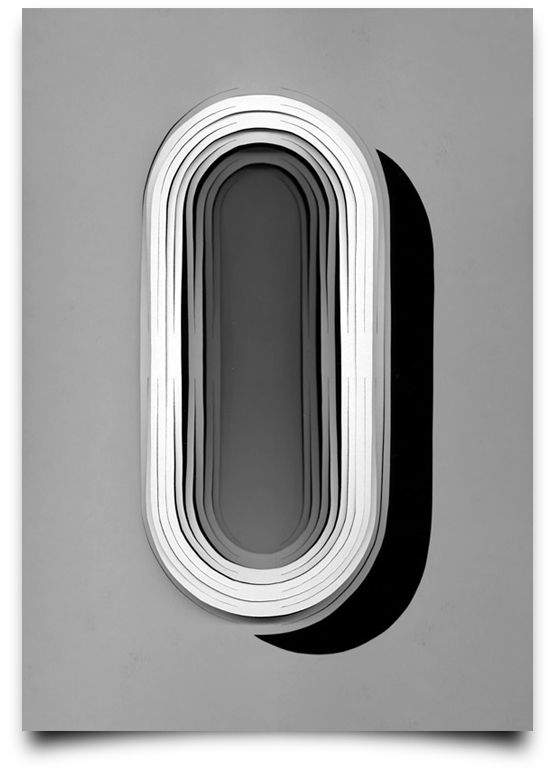 German graphic designer Tony Ziebetzki combines papercraft and lettering for his series Type Scan Alphabet.