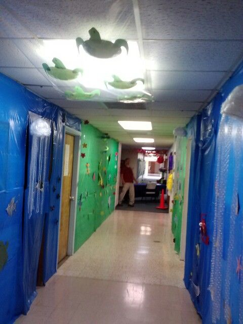 Hallway Decorations Weird Animals Vbs Church Pinterest