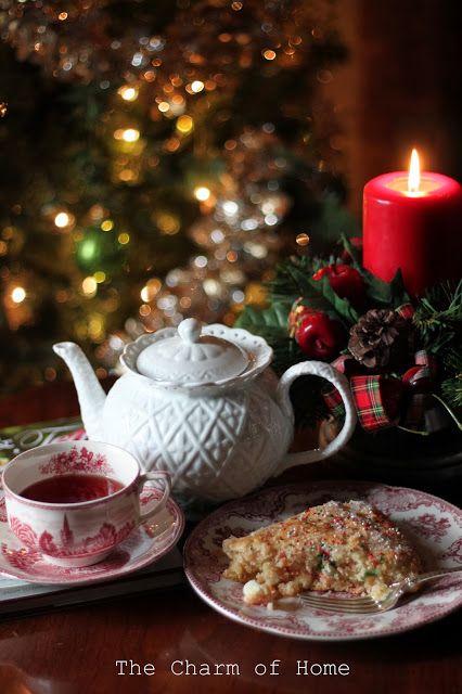 Christmas tea: