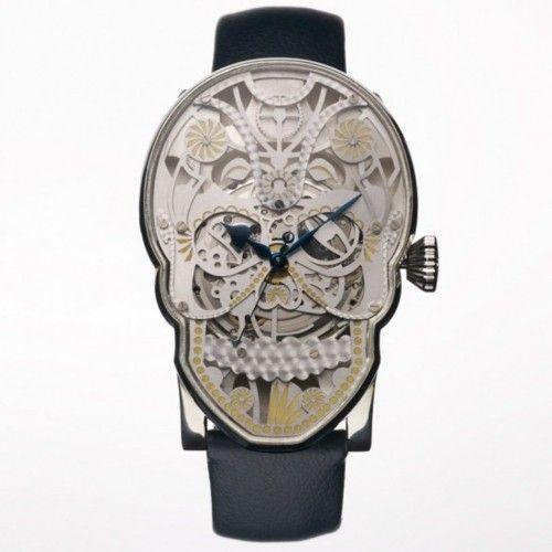 Fashion, Skullwatch, Skull Watches, Mexicans Skull, Fiona Kruger, Jewelry, Fiona Krüger, Accessories, Memento Mori