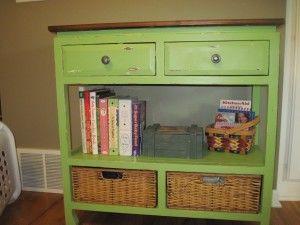 "Nice!  Love the basket ""drawers"""