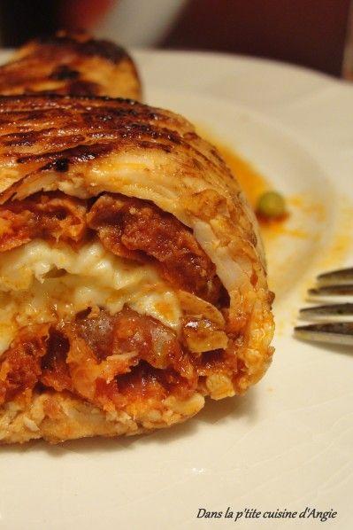 Hello ! aujourd'hui, une délicieuse recette salée à vous proposer qui plaira sans hésitations si vous aimez le chorizo et la mozzarella ! Ici, ça a eu un franc succès en tout cas! Ca faisait un moment que je voulais faire des Saltimbocca, et puis je ne...