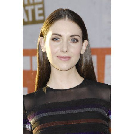 Alison Brie At Arrivals For Get Hard Premiere Canvas Art - (16 x 20)