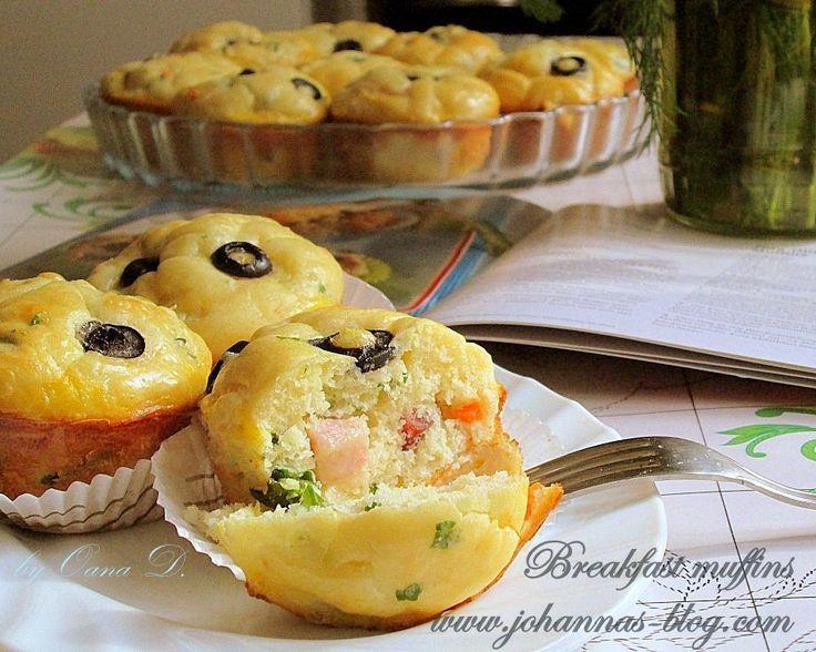 Johanna's recipes: Breakfast muffins