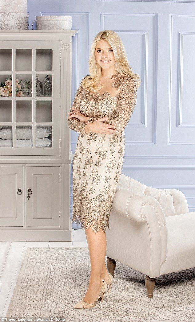 Fall head over heels for Holly's Freda lace dress #DailyMail