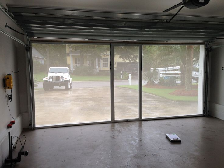 You Call, We Screen. Letting the fresh air into your garage, while keeping the b…