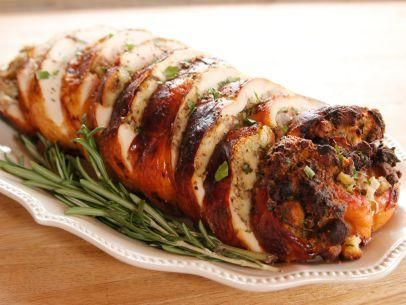 """Turkey Roulade (Frontier Friendsgiving) - """"The Pioneer Woman"""", Ree Drummond on the Food Network."""