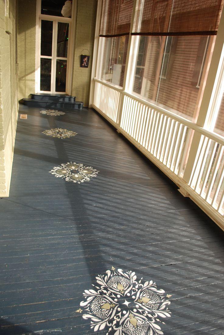 1000 ideas about front porch deck on pinterest front for Porch deck plans